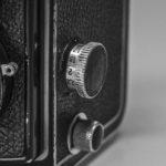 The Rolleiflex old standard - Focus adjustment knob