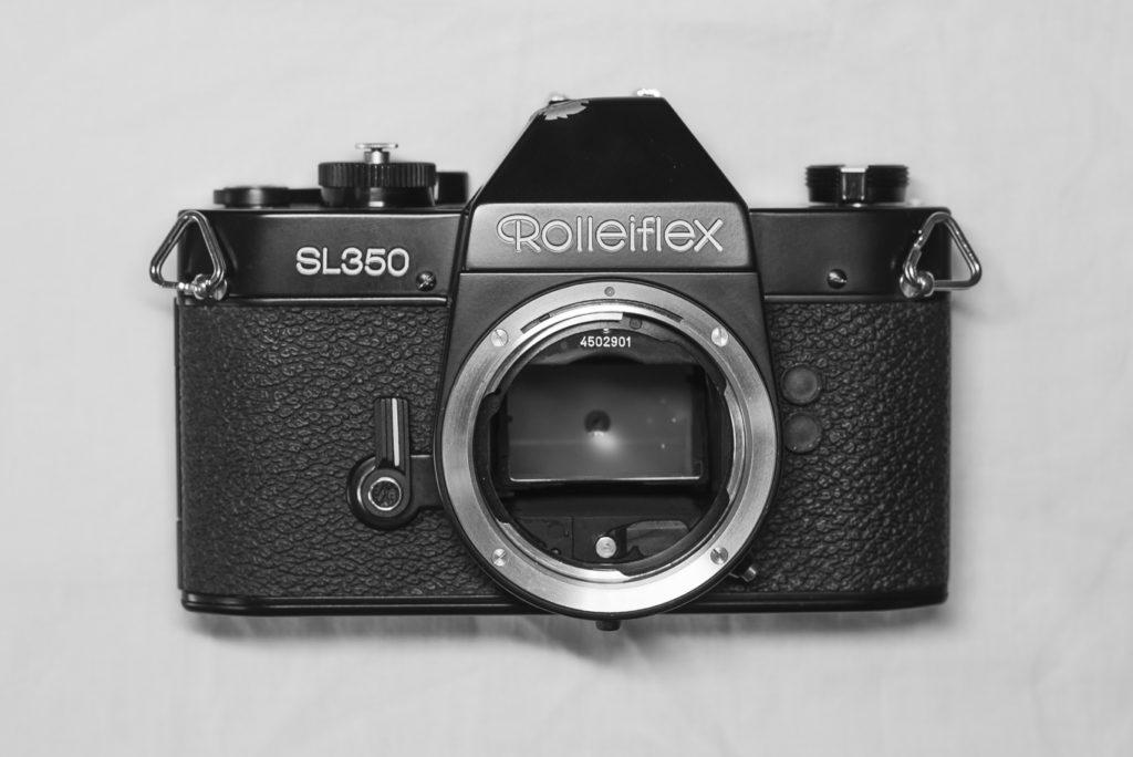Rolleiflex SL350 - Front repair